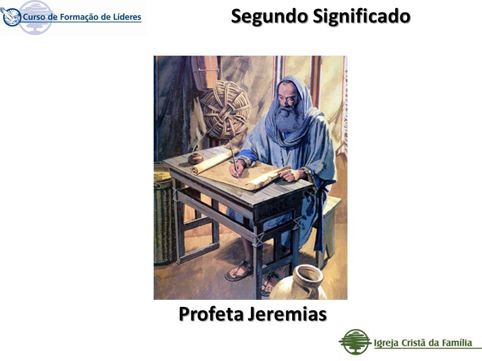 Profeta Jeremias Segundo Significado