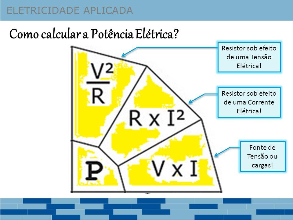 Potência Elétrica - Exercício Vamos calcular os seguintes valores para o circuito abaixo: 1 – As Correntes Elétricas do circuito (I 1, I 2 e I T ); 2 – As Quedas de Tensão nos resistores (V R1 e V R2 ); 3 – As Potências dos Resistores (P R1 e P R2 ).