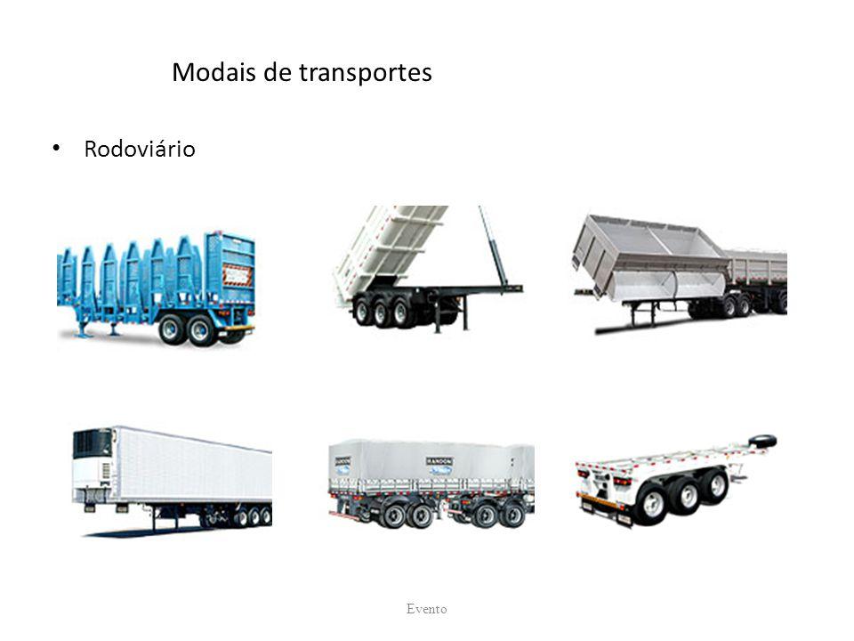 Modais de transportes Rodoviário Evento