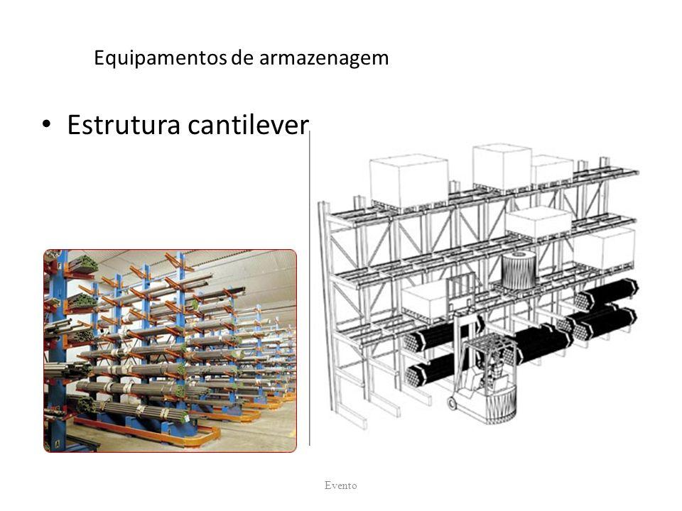 Equipamentos de armazenagem Estrutura cantilever Evento