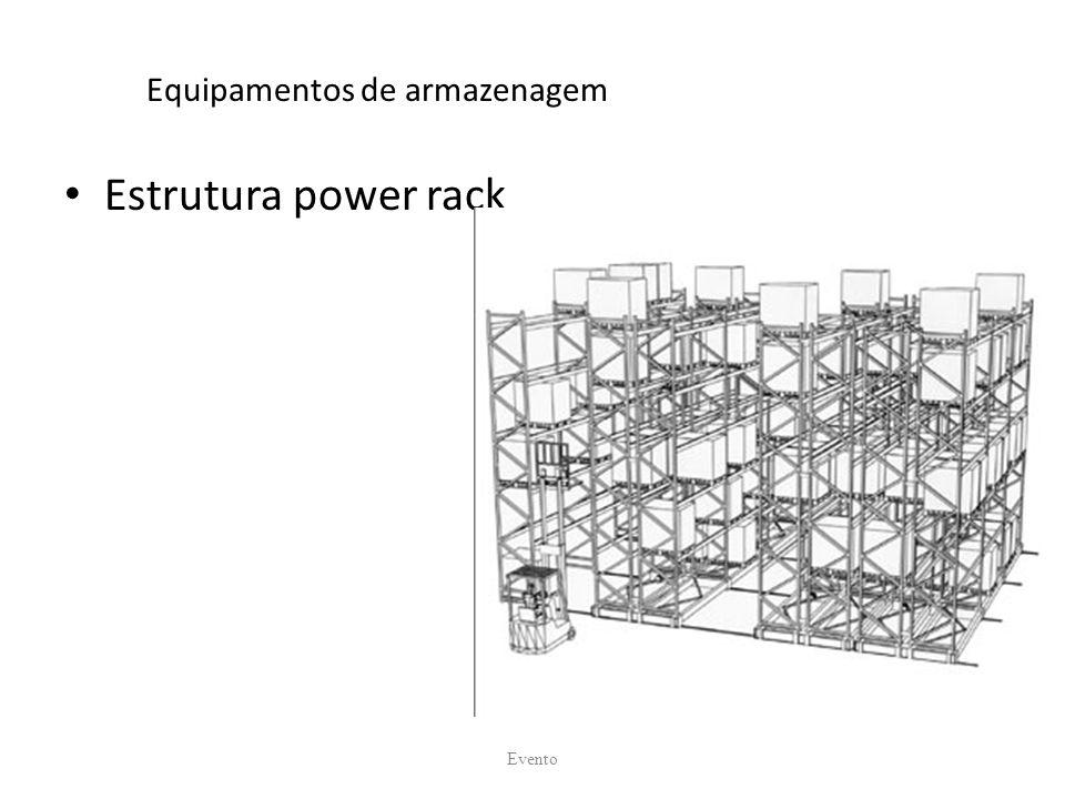 Equipamentos de armazenagem Estrutura power rack Evento