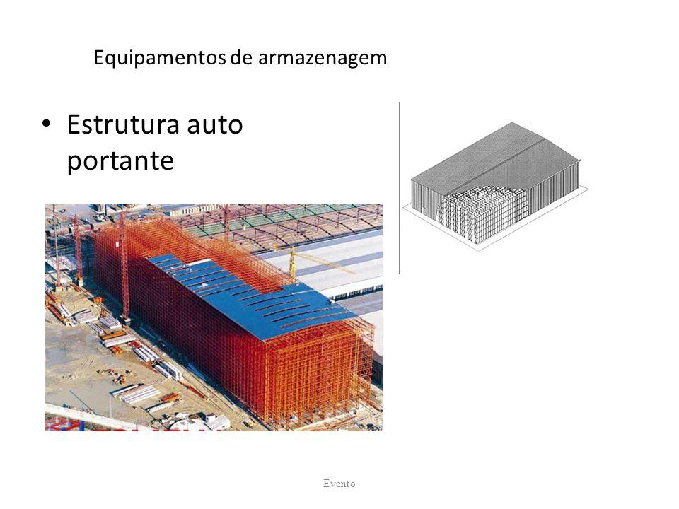 Equipamentos de armazenagem Estrutura auto portante Evento