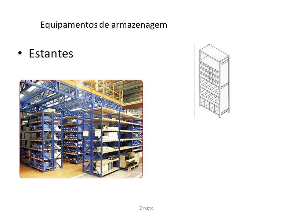 Equipamentos de armazenagem Estantes Evento