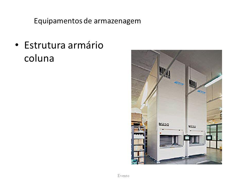 Equipamentos de armazenagem Estrutura armário coluna Evento