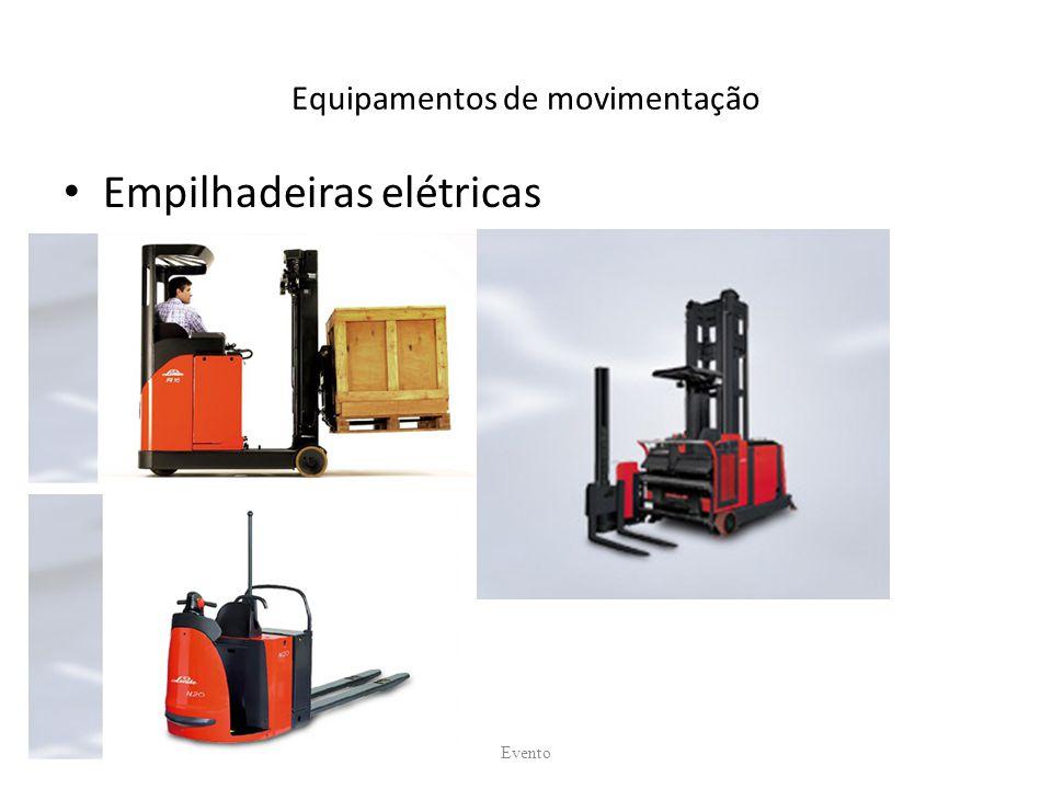 Equipamentos de movimentação Empilhadeiras elétricas Evento