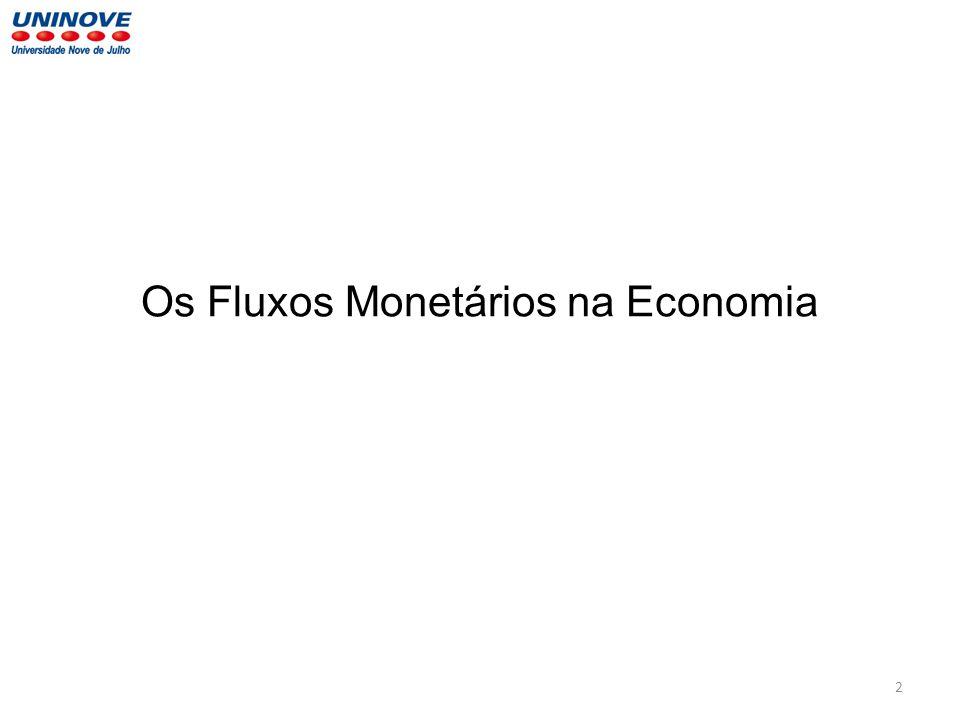 Os Fluxos Monetários na Economia 2