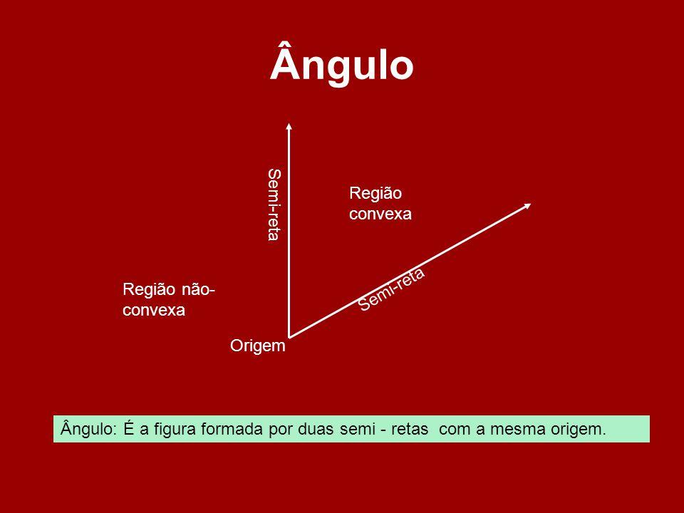 Submúltiplos do Grau Os submúltiplos do grau são: Minuto )Segundo ) Exemplos: 18´ lê-se: dezoito minutos.