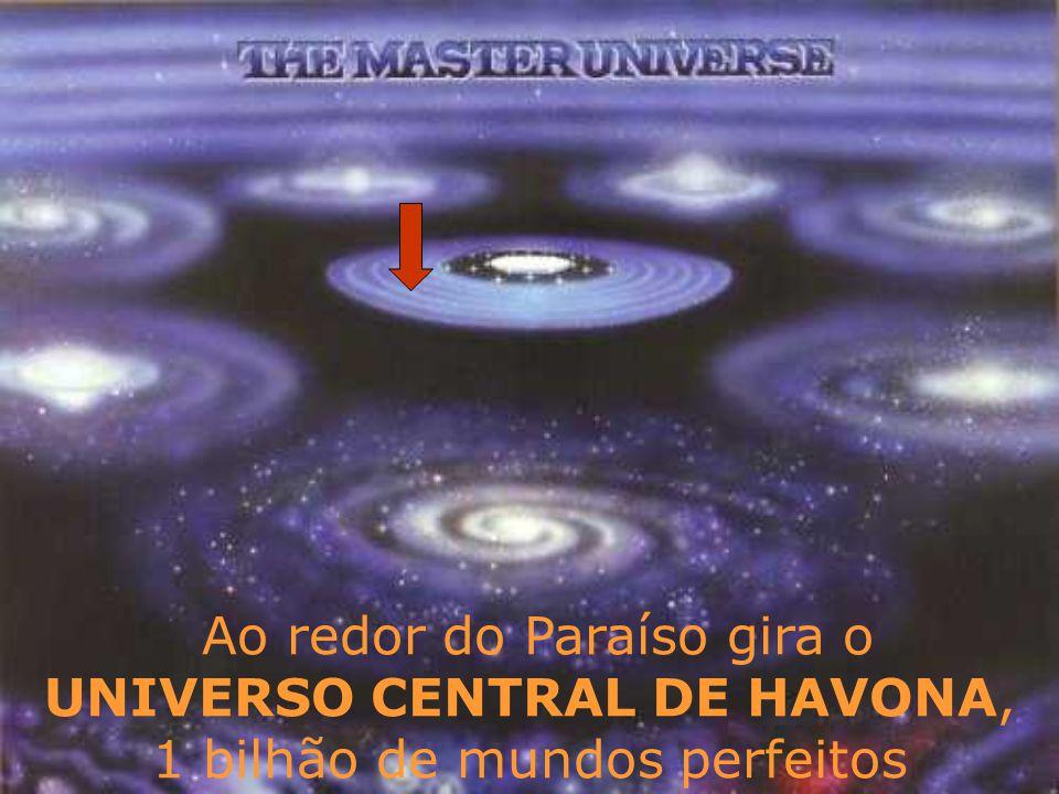 Ao redor do Paraíso gira o UNIVERSO CENTRAL DE HAVONA, 1 bilhão de mundos perfeitos