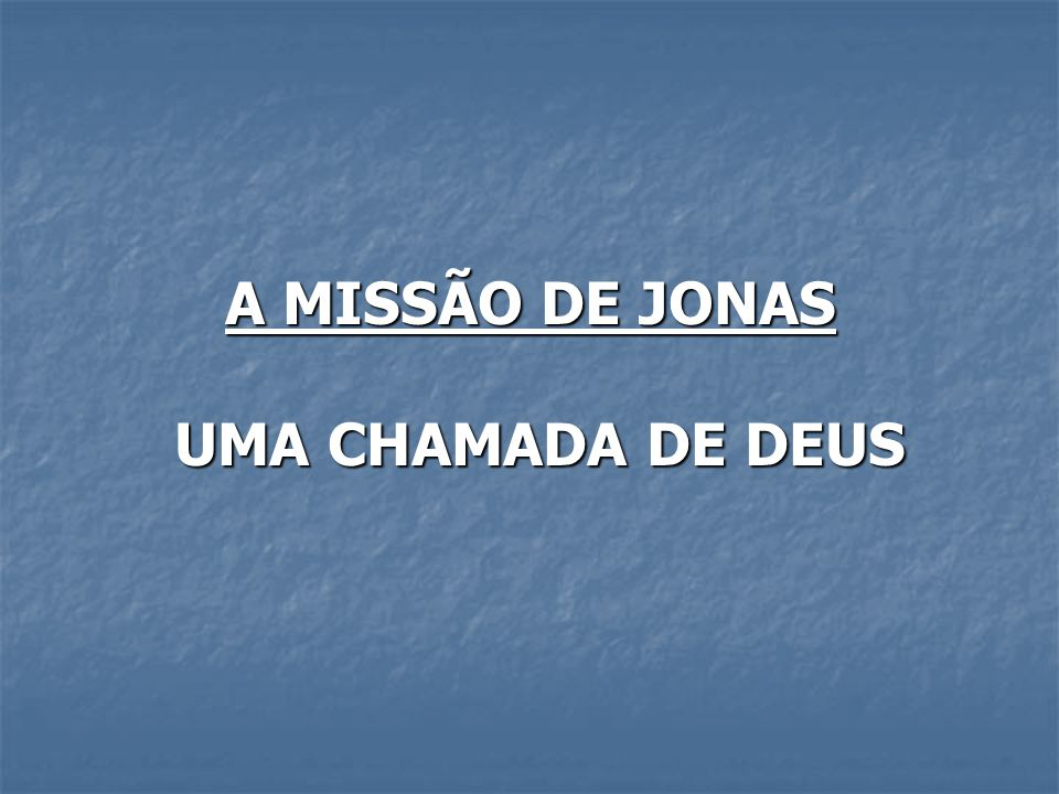 ATITUDE DE DEUS 17 Preparou, pois, o SENHOR um grande peixe, para que tragasse a Jonas; e esteve Jonas três dias e três noites nas entranhas do peixe.