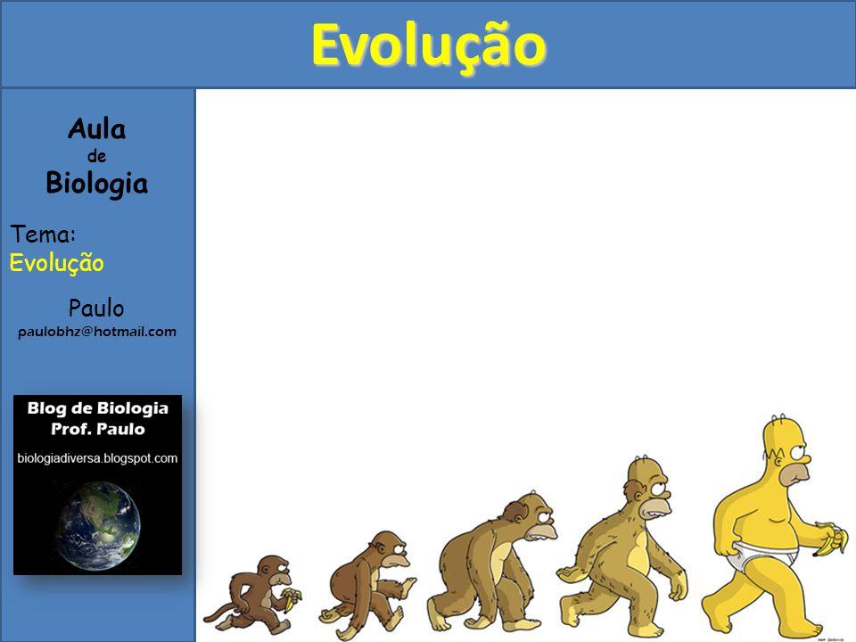 1)Introdução Evolução é o processo de transformações hereditárias e adaptações que vem ocorrendo nos seres vivos desde que surgiram no planeta Terra.