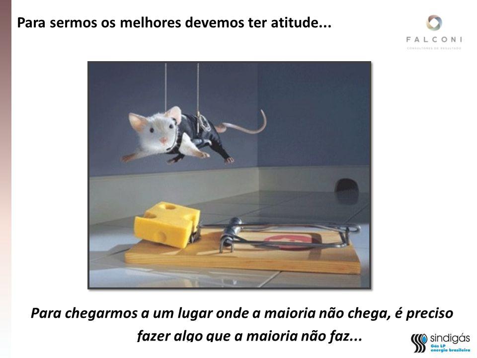 Fonte: Relatorio Final Analise Estrategica da Cadeia de Gas LP – Sindigas/INDG/Copernicus - 2010 Para sermos os melhores devemos ter atitude...