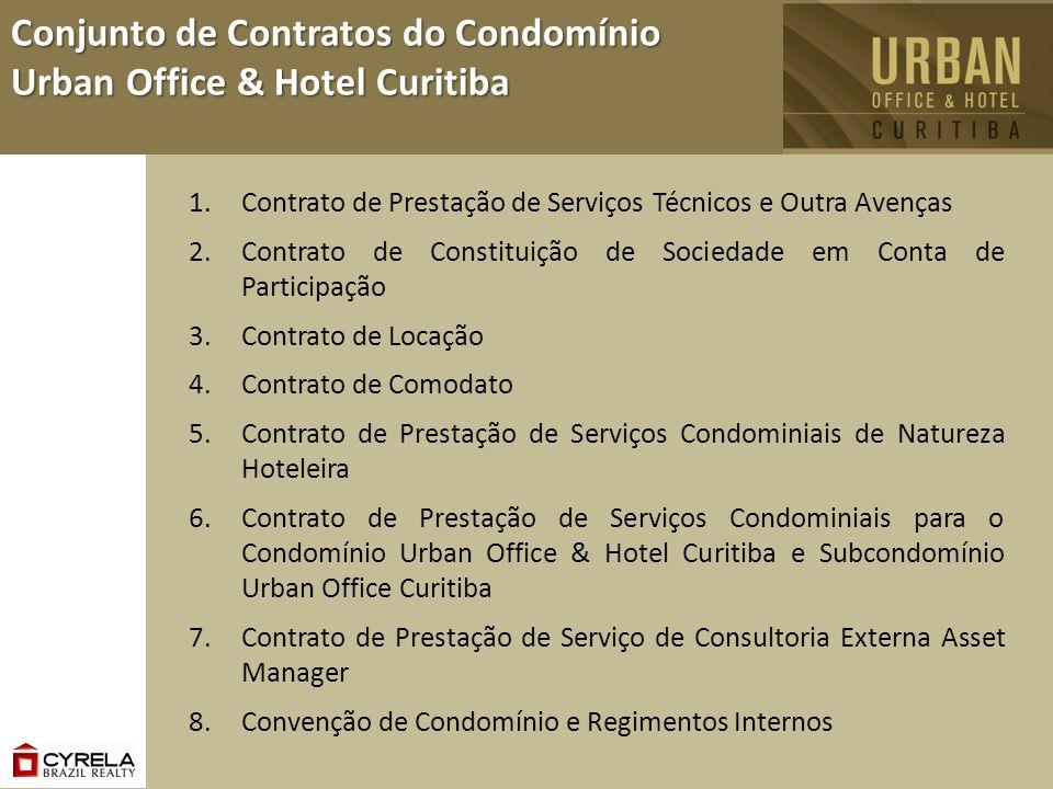 1.Contrato de Prestação de Serviços Técnicos e Outra Avenças 2.Contrato de Constituição de Sociedade em Conta de Participação 3.Contrato de Locação 4.