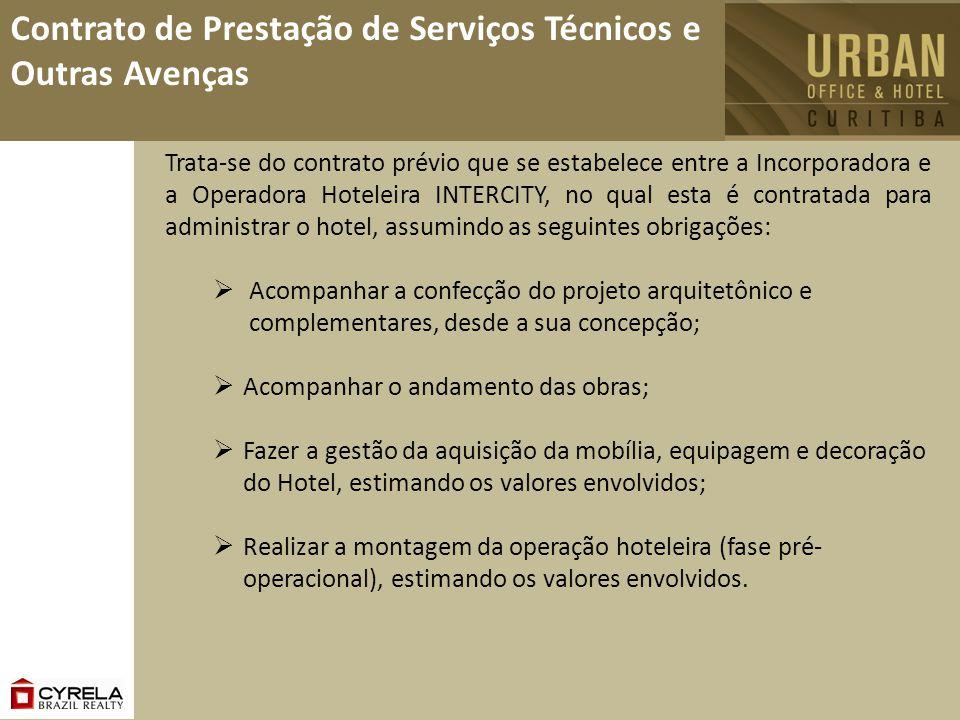 Contrato de Prestação de Serviços Técnicos e Outras Avenças Acompanhar a confecção do projeto arquitetônico e complementares, desde a sua concepção; A