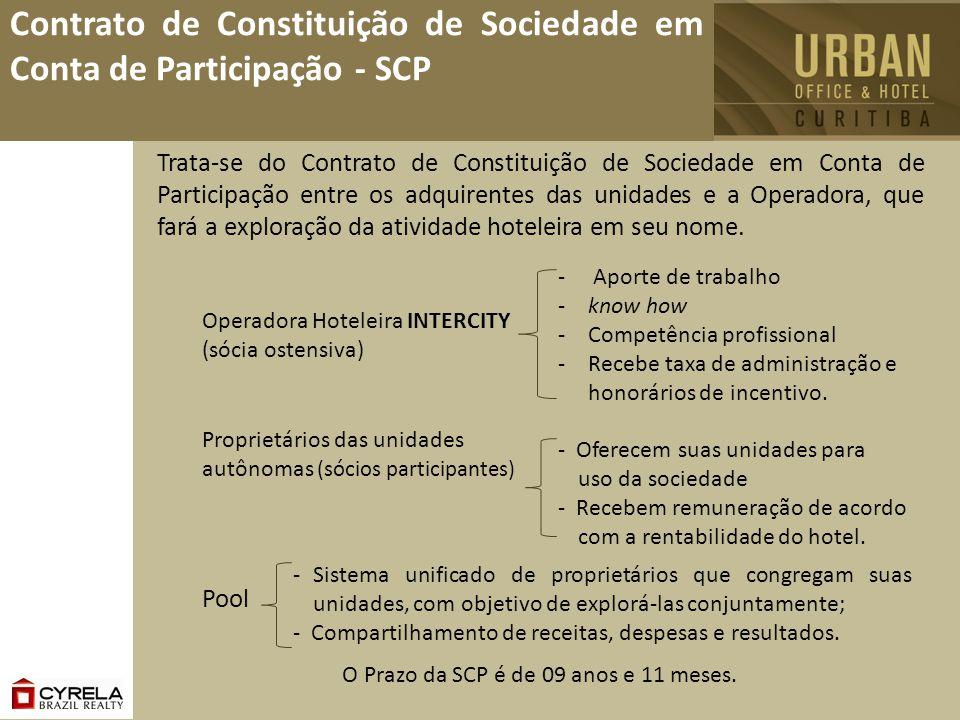 Contrato de Constituição de Sociedade em Conta de Participação - SCP Trata-se do Contrato de Constituição de Sociedade em Conta de Participação entre