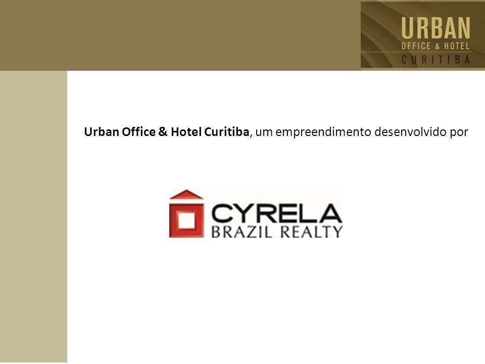 Urban Office & Hotel Curitiba, um empreendimento desenvolvido por