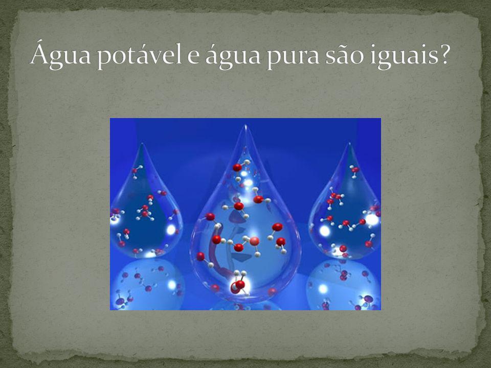 Água e sal dissolvido Vejo materiais distintos .Tem substâncias diferentes.