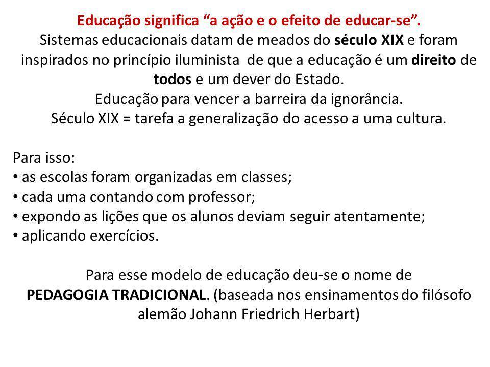 A escola não conseguiu ser universal.Tampouco fez a equalização social.