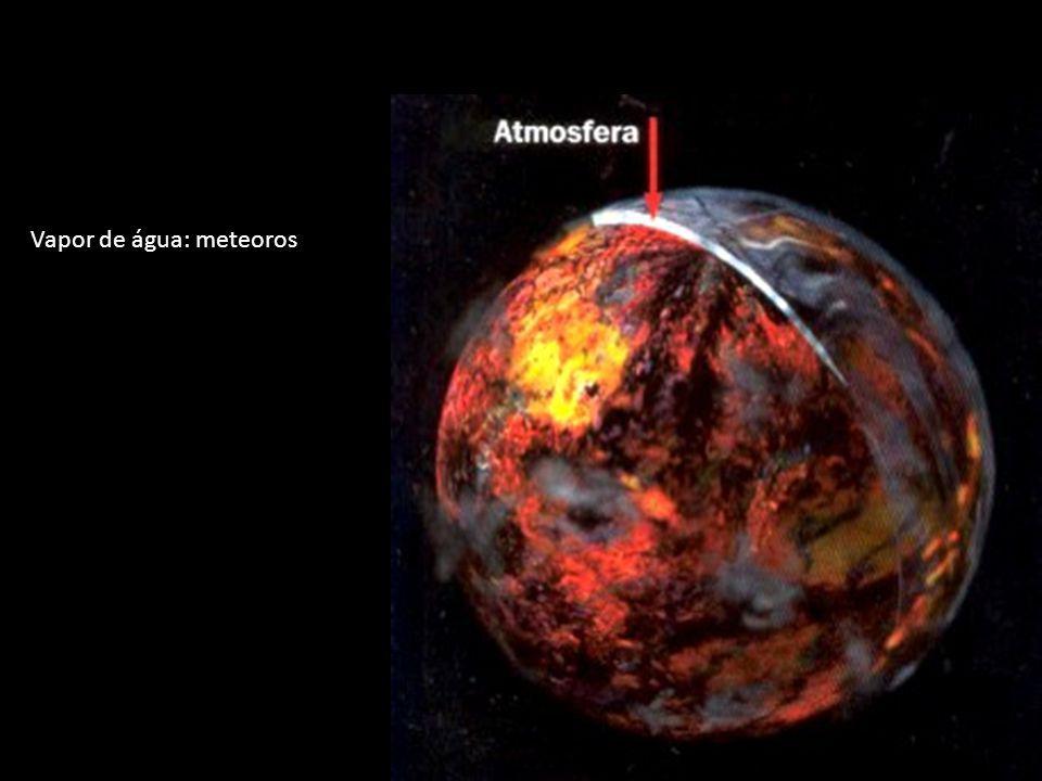 Vapor de água: meteoros