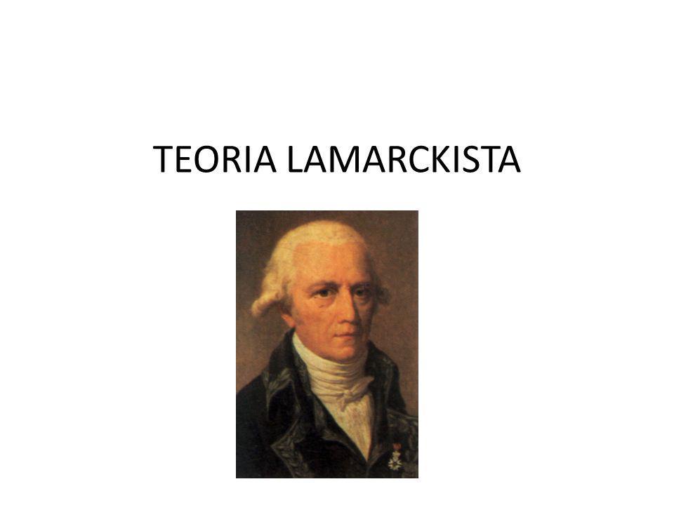 TEORIA LAMARCKISTA