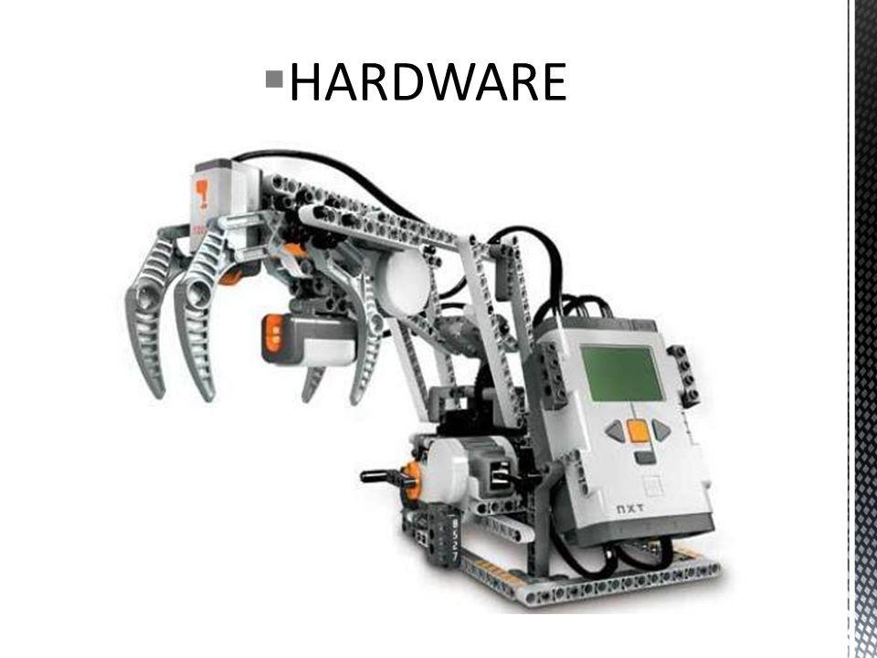 Descrição técnica do NXT: O bloco inteligente e programável LEGO NXT 2.0 tem um potente microprocessador de 32 bits, um grande display, matriz com 4 portas de entradas e 3 de saídas, comunicação Bluetooth e USB; Três servomotores interativos; Quatro sensores: Sensor ultrassônico, 2 Sensores Toque e o mais novo Sensor Cor; O Sensor de Cor tem tripla função: distingue cores de luz e definições, e funciona como uma lâmpada; No melhor sistema de programação Easy-to-use o software (PC e Mac) à base de arrastar e largar torna a programação fácil, interativa e divertida, sem deixar de ser desafiante; Todos os elementos LEGO (612 peças) de que você precisa para criar incríveis robôs; Personalize o seu robô com o Ícone editores de som.;