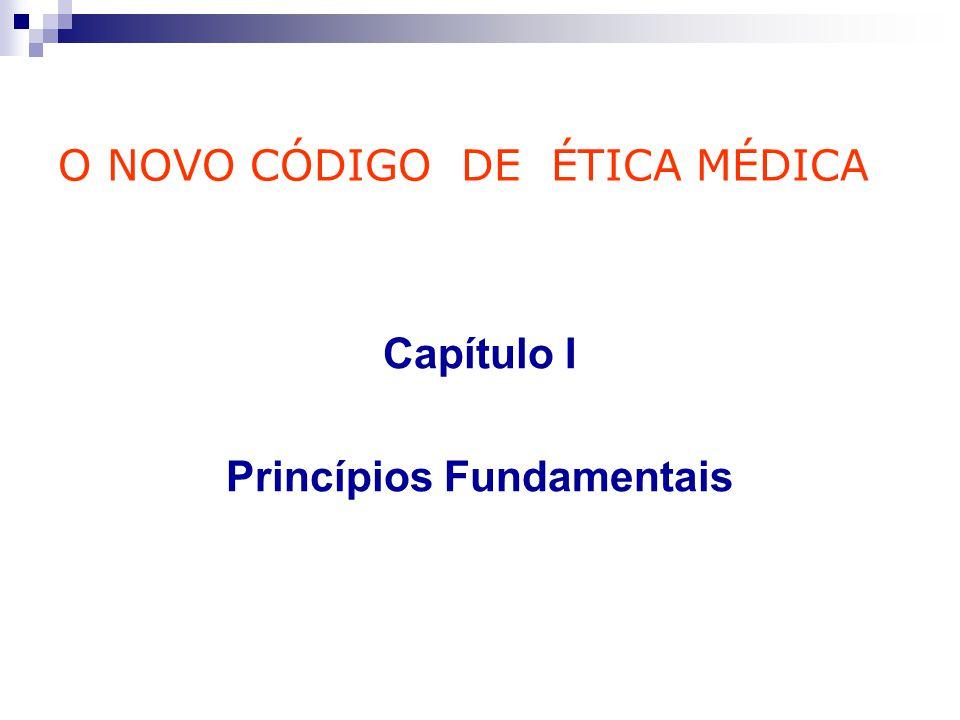 Capítulo I Princípios Fundamentais