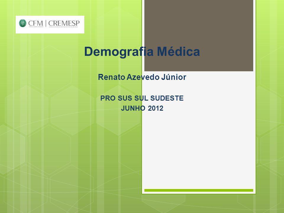 PROJEÇÃO PARA POSTO DE TRABALHO MÉDICO OCUPADO NOS SETORES PÚBLICO E PRIVADO, 2010 – 2020.