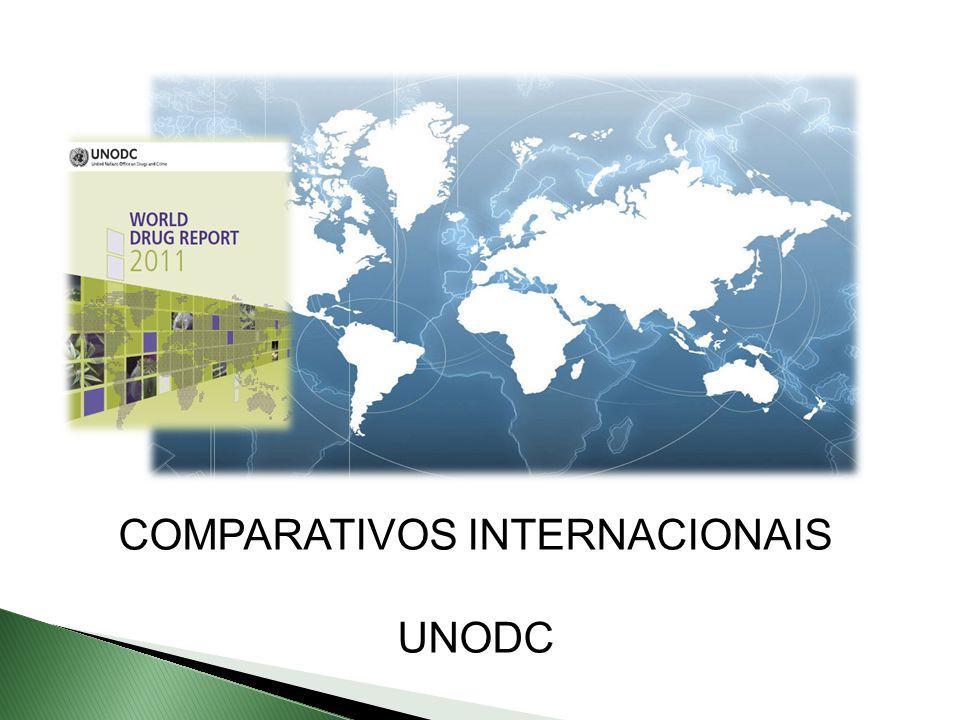COMPARATIVOS INTERNACIONAIS UNODC