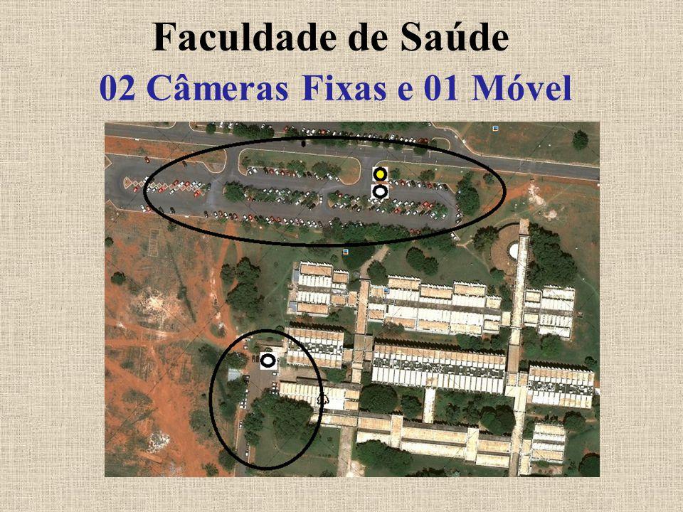 Faculdade de Saúde 02 Câmeras Fixas e 01 Móvel