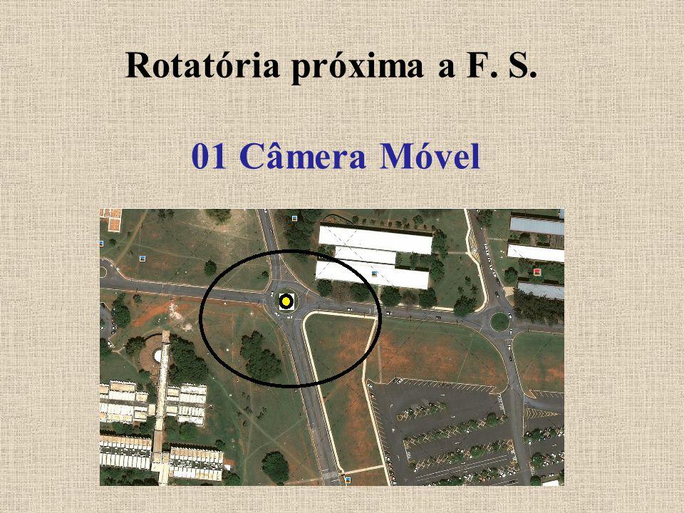 Rotatória próxima a F. S. 01 Câmera Móvel