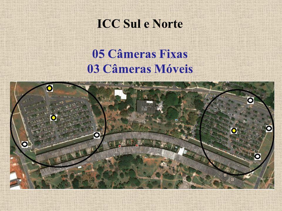 ICC Sul e Norte 05 Câmeras Fixas 03 Câmeras Móveis