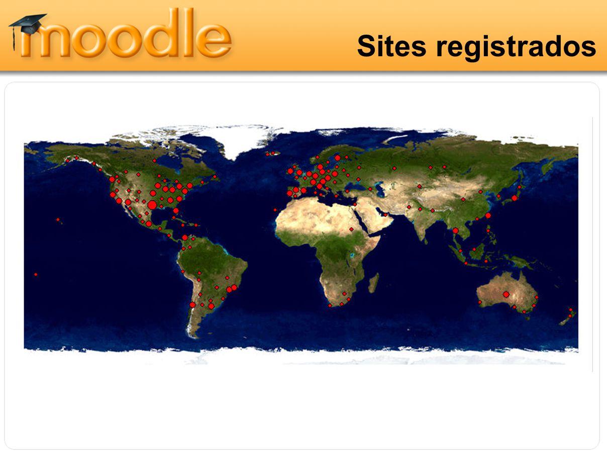 Sites registrados