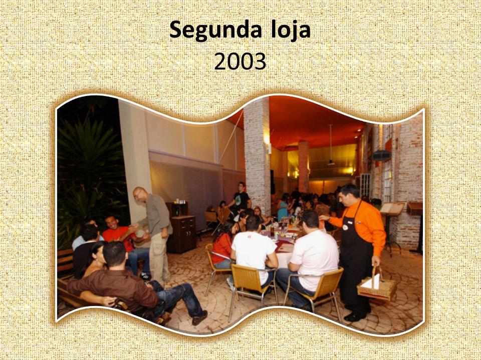Segunda loja 2003