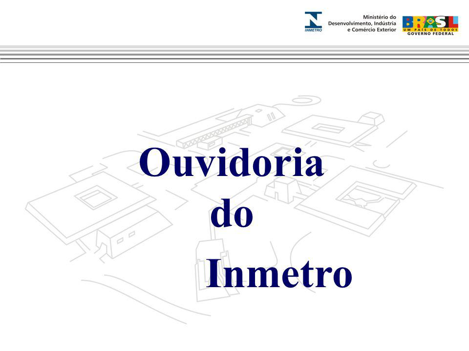 Marca do evento Ouvidoria do Inmetro