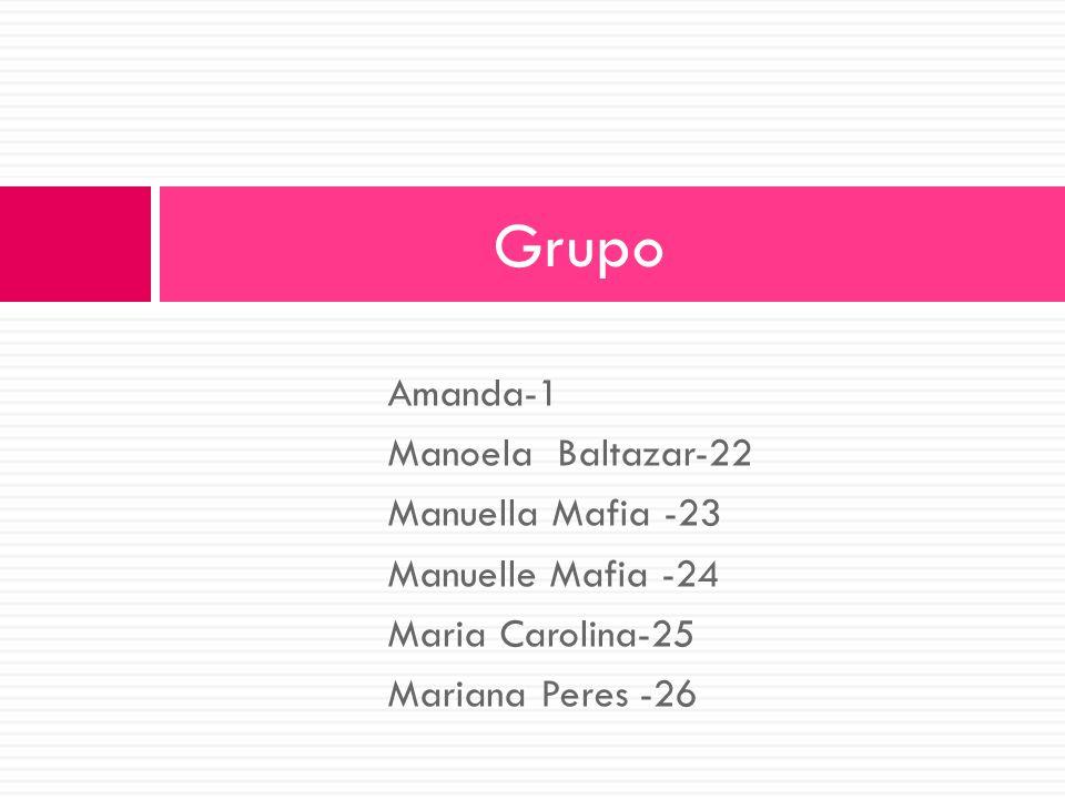 Amanda-1 Manoela Baltazar-22 Manuella Mafia -23 Manuelle Mafia -24 Maria Carolina-25 Mariana Peres -26 Grupo
