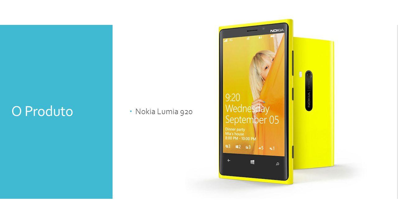 O Produto Nokia Lumia 920