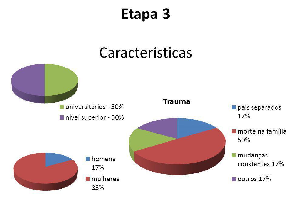 Etapa 3 Características