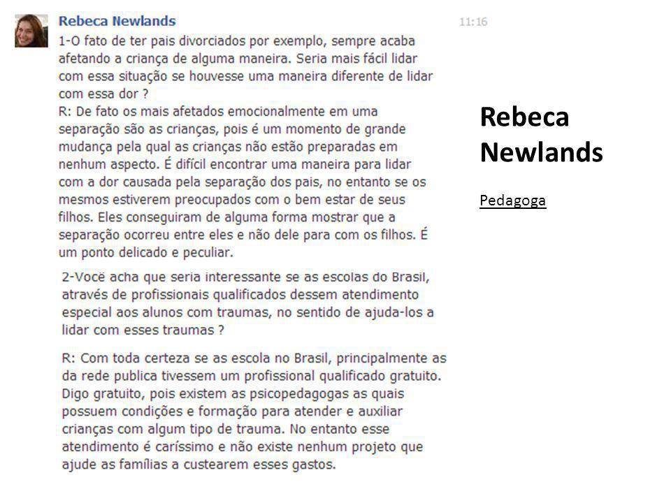 Rebeca Newlands Pedagoga