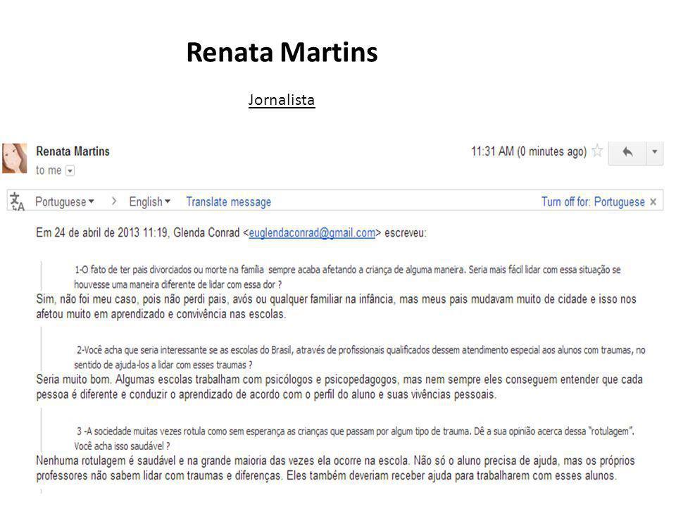 Renata Martins Jornalista