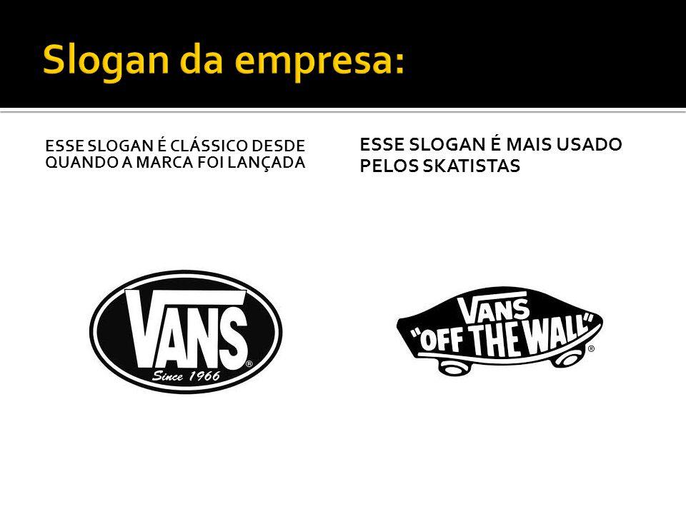 A concorrência mais forte da marca Vans é a linha da Converse, a All Star.