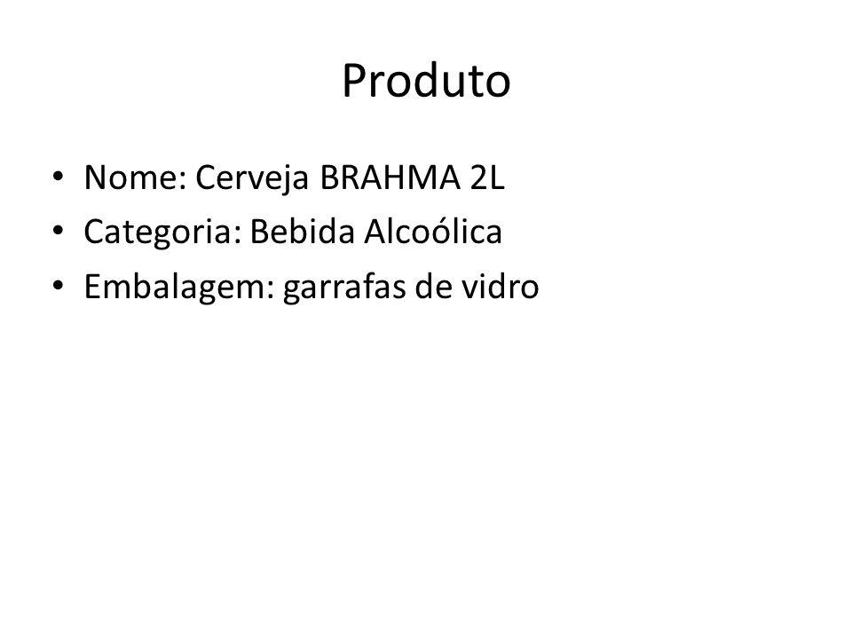 Produto Nome: Cerveja BRAHMA 2L Categoria: Bebida Alcoólica Embalagem: garrafas de vidro