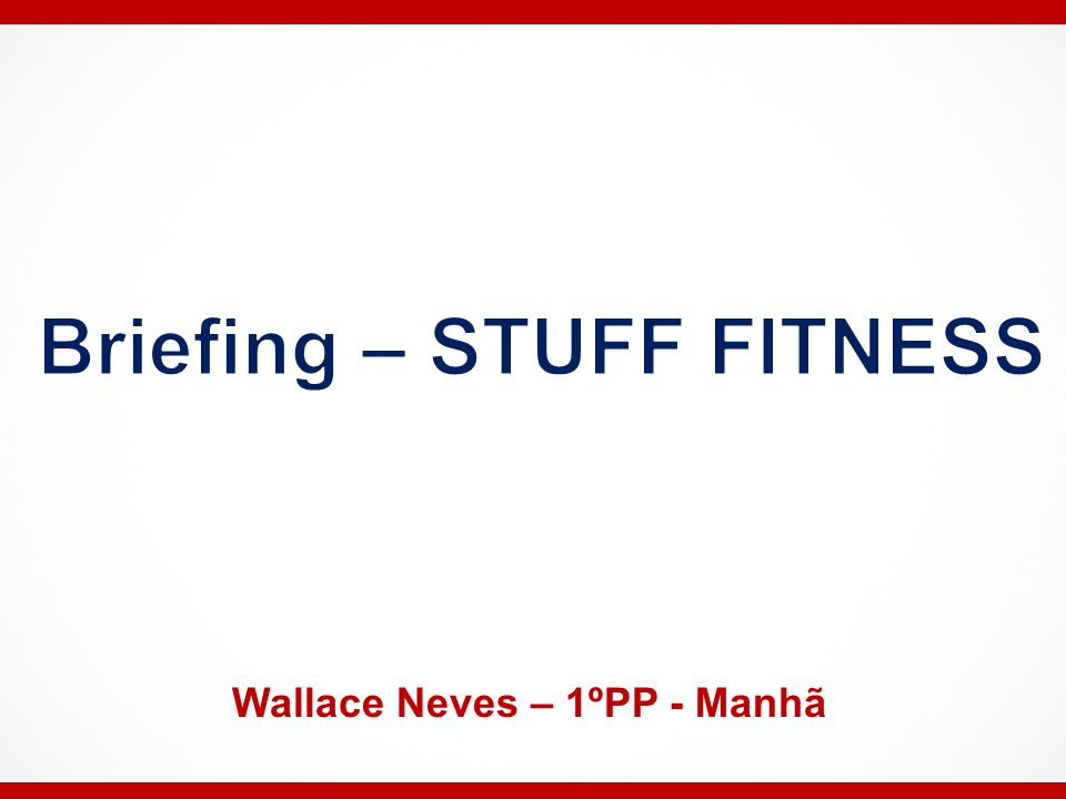 Wallace Neves – 1ºPP - Manhã