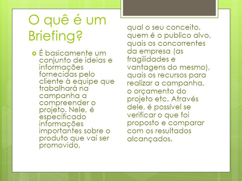 Por quê o briefing é importante.