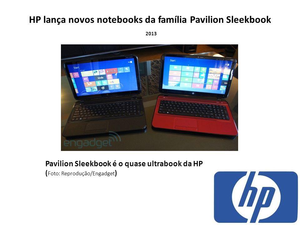 HP lança novos notebooks da família Pavilion Sleekbook 2013 Pavilion Sleekbook é o quase ultrabook da HP ( Foto: Reprodução/Engadget )