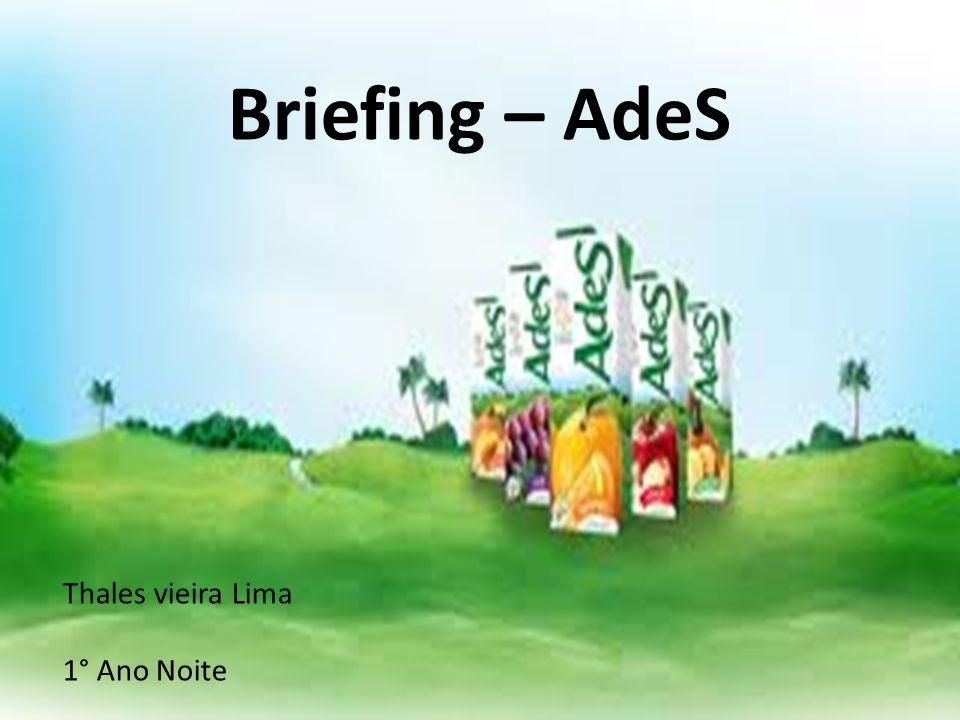 Briefing – AdeS Thales vieira Lima 1° Ano Noite