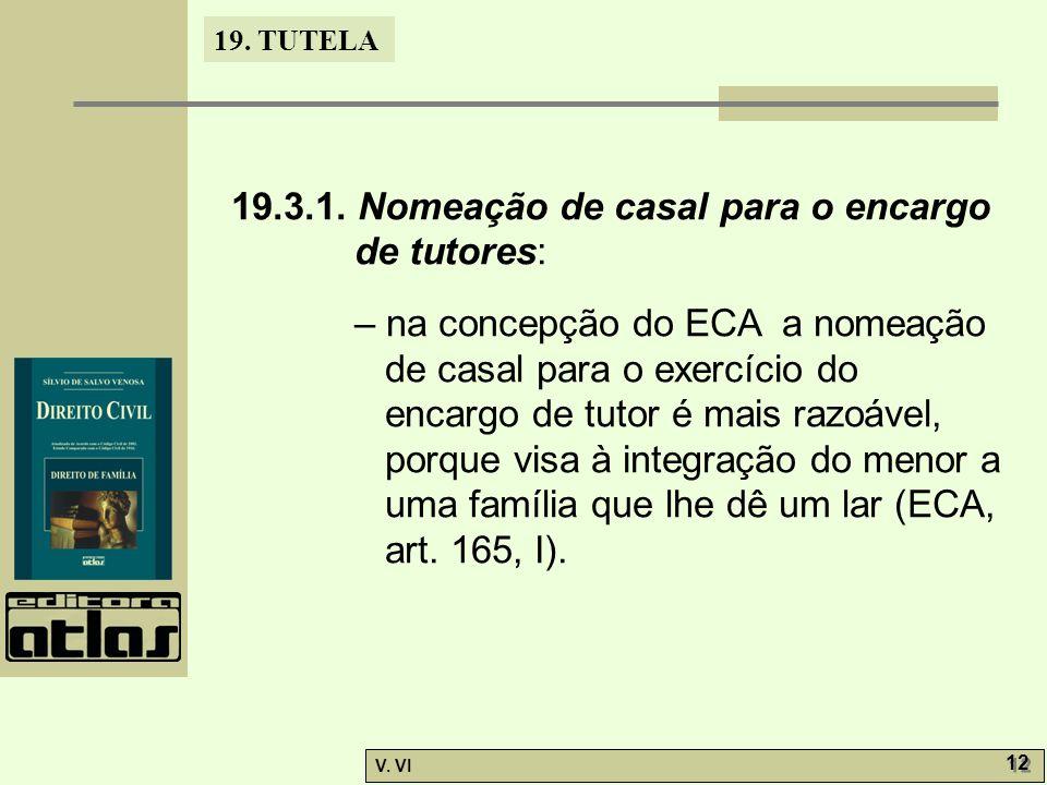 19.TUTELA V. VI 12 19.3.1.