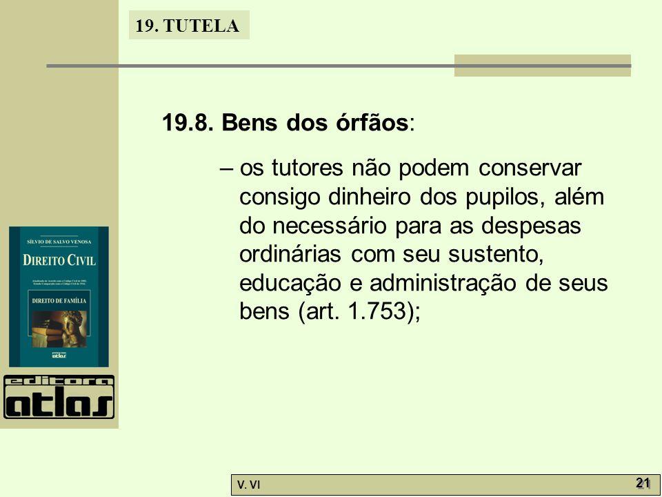 19.TUTELA V. VI 21 19.8.