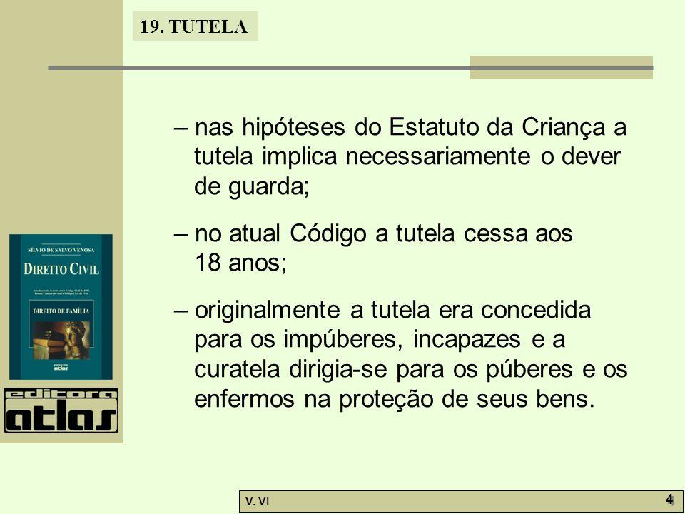 19.TUTELA V. VI 15 19.4.1.