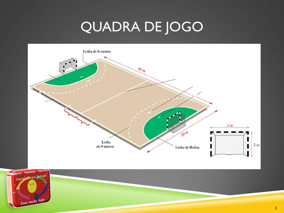 OS ÁRBITROS Dois árbitros com igual autoridade serão os responsáveis por cada partida.