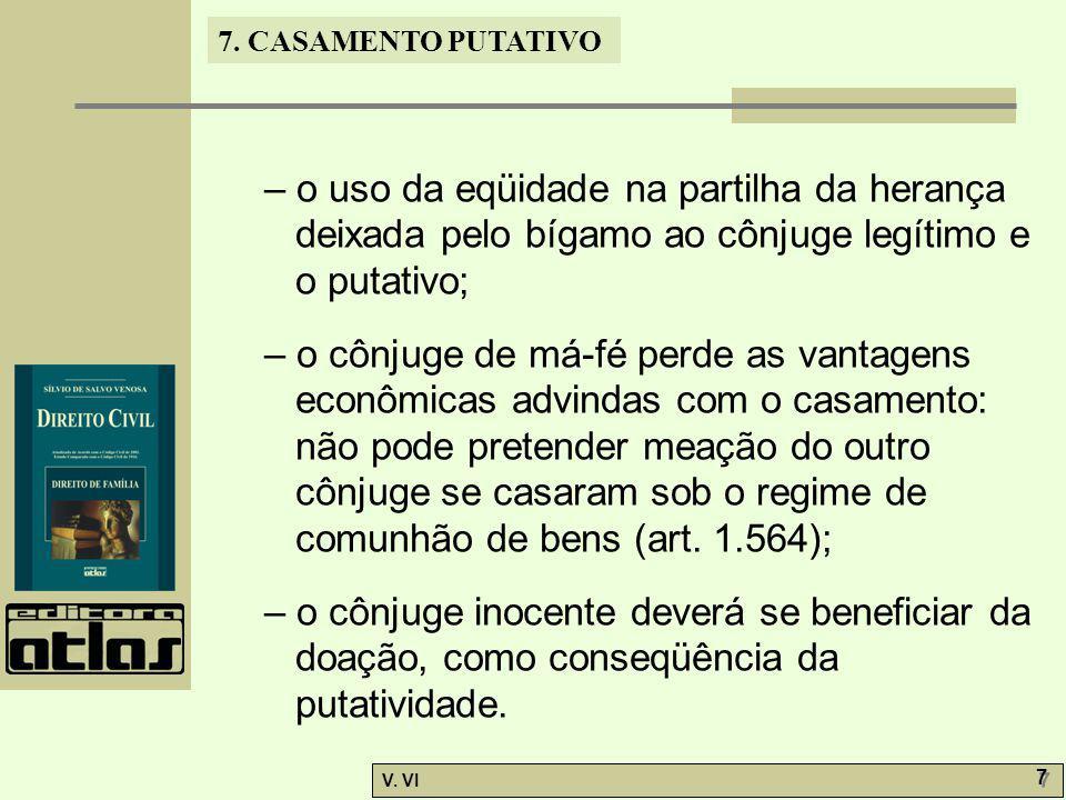 7.CASAMENTO PUTATIVO V.
