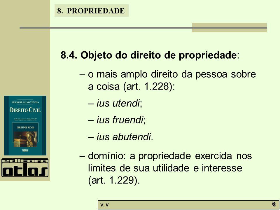8.PROPRIEDADE V. V 7 7 8.5.